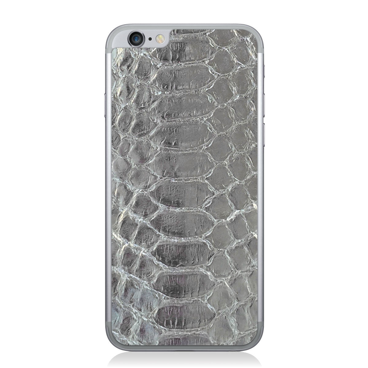 Silver Python iPhone 6/6s Leather Skin
