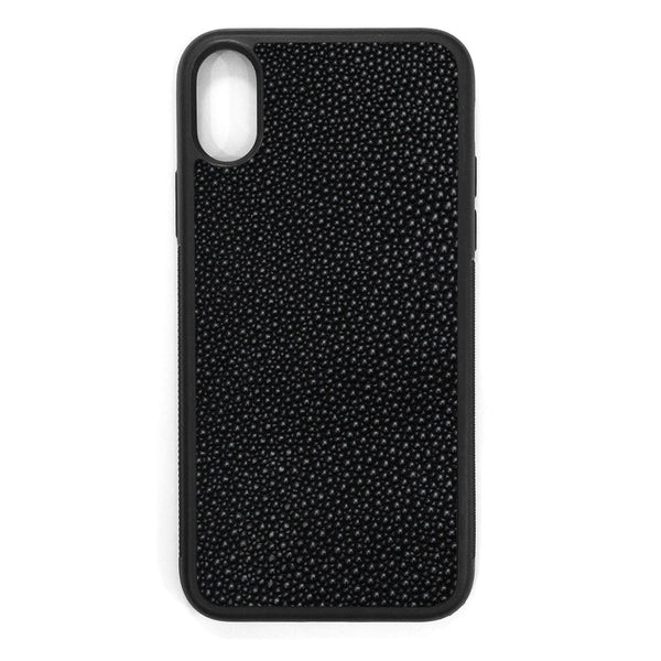Stingray iPhone X Leather Case