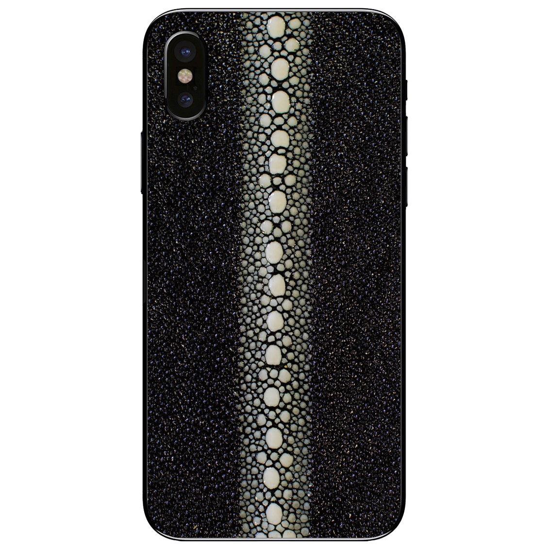 Row Stingray iPhone X Leather Skin