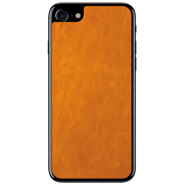 Tan iPhone 7 Leather Skin
