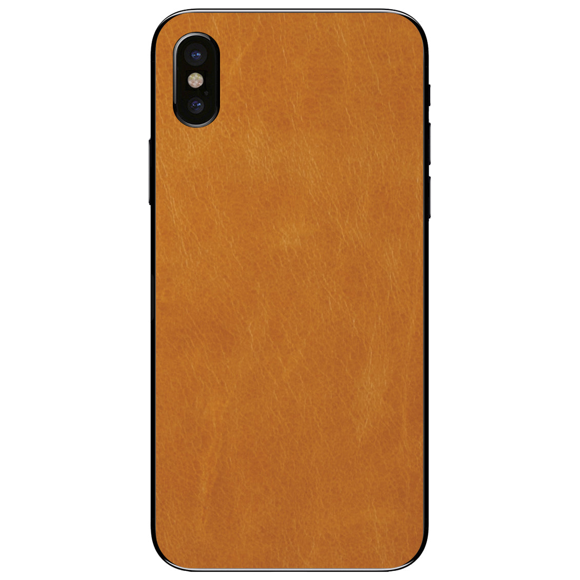 Tan iPhone X Leather Skin