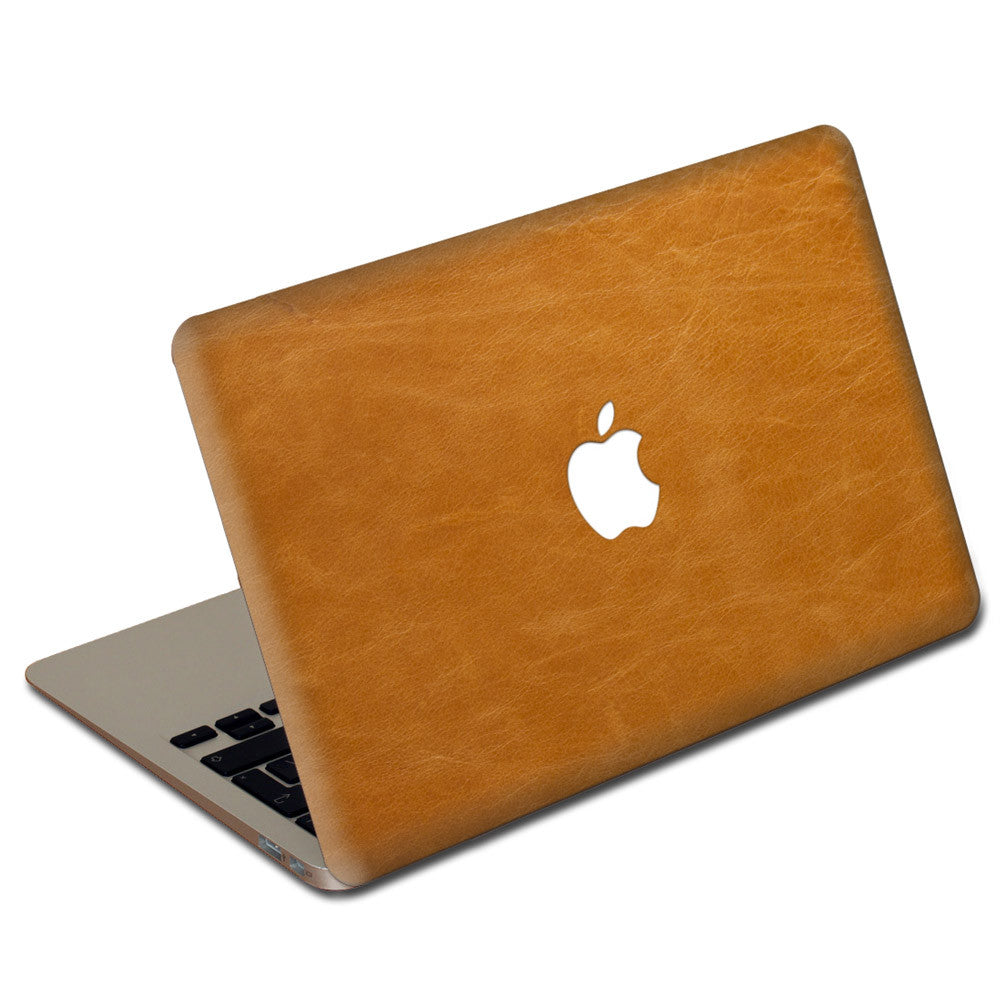 Tan MacBook Leather Cover