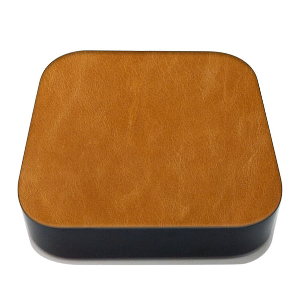 Tan Apple TV Leather Cover