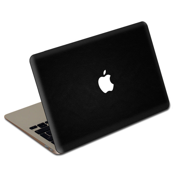Black MacBook Leather Cover