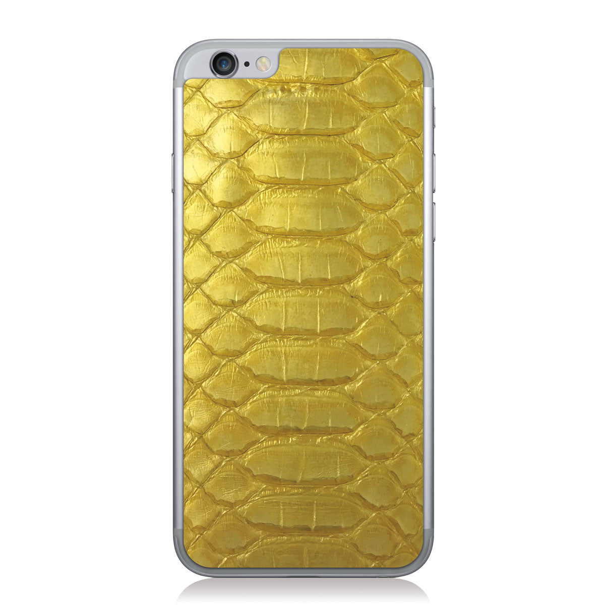 Gloss Yellow Python iPhone 6/6s Leather Skin