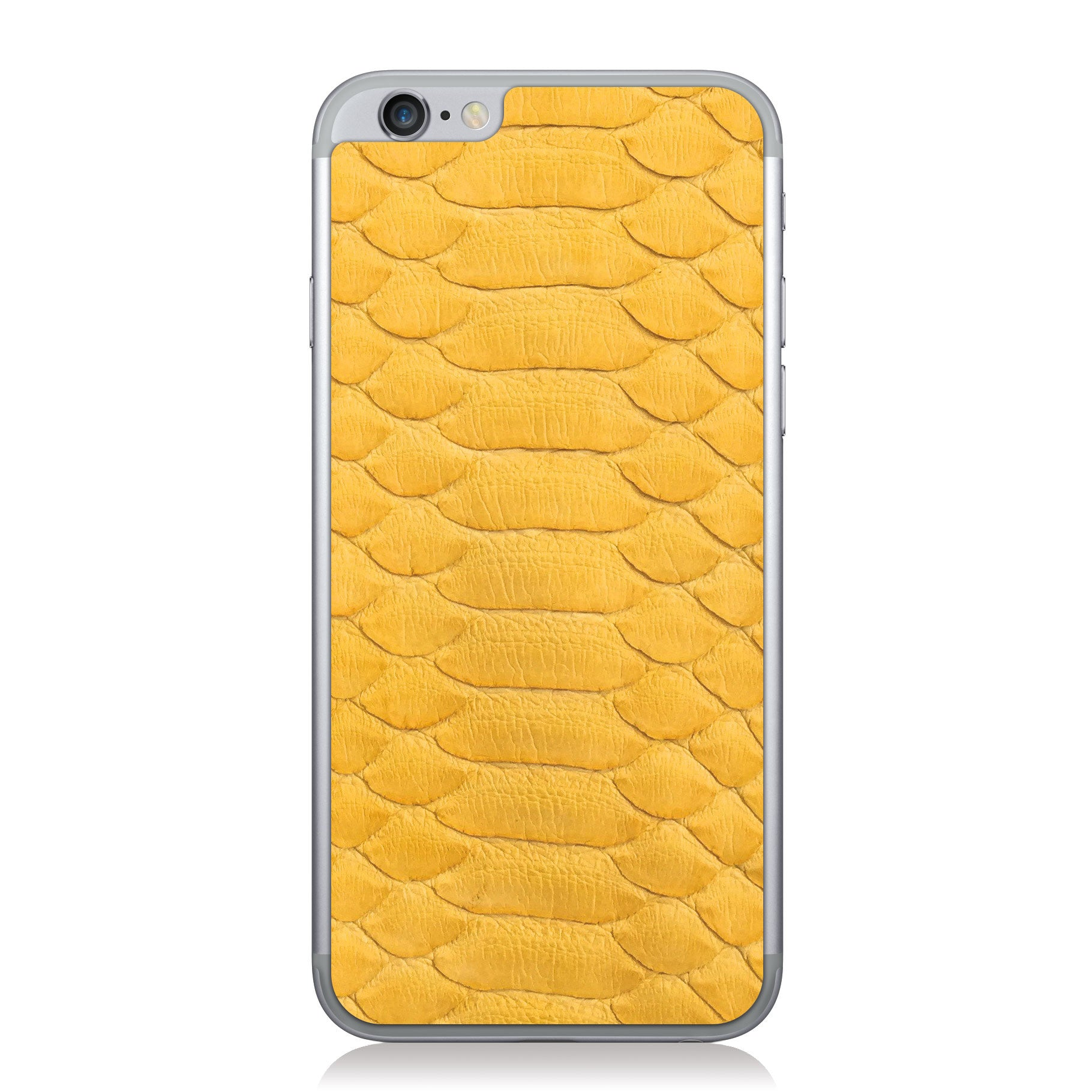 Yellow Python iPhone 6/6s Leather Skin