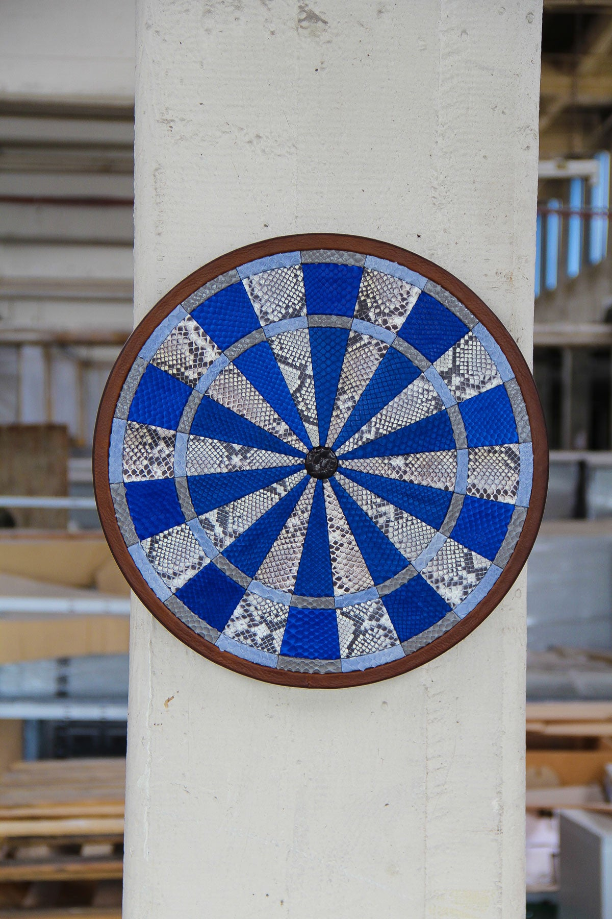 Leather Dartboard