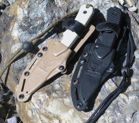 "Kydex sheath for 4"" or 3.25"" Compact 451 Fixed Blade"
