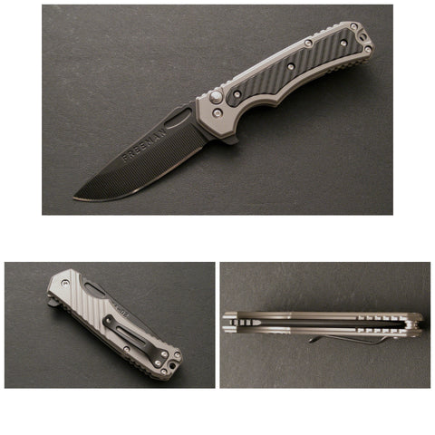 451 Button Lock Flipper Folder