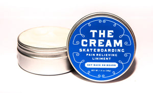The Cream Skateboarding Pain Relieving Liniment