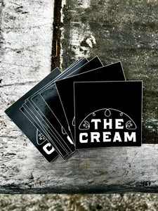 "The Cream ""Half Line Logo"" Sticker Pack (10 stickers)"