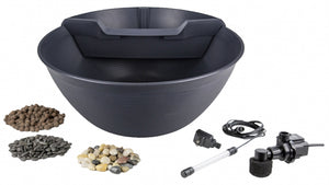 Aquascape AquaGarden Mini Pond Kit – Steel Gray
