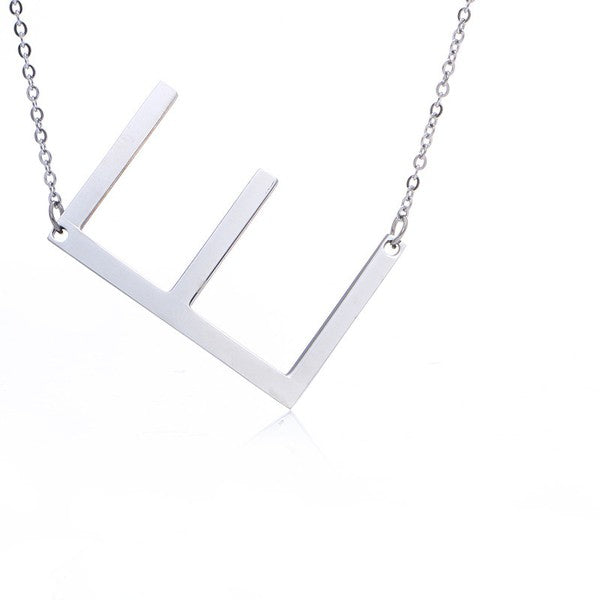 Initial Necklaces - Gold or Silver