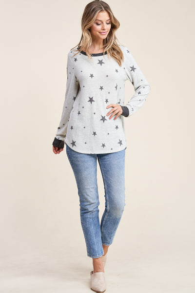 Seeing Stars Knit Pullover