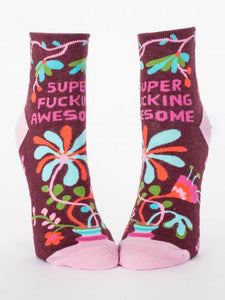 Super Fucking Awesome - Women's Ankle Socks