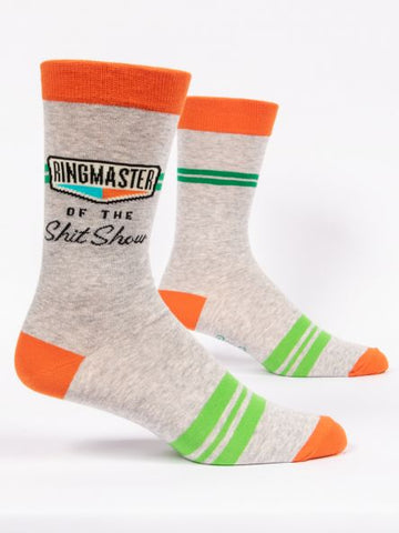 Ringmaster of the Shit Show - Men's Crew Socks