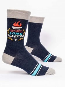Olympic Long Sleeper - Men's Crew Socks