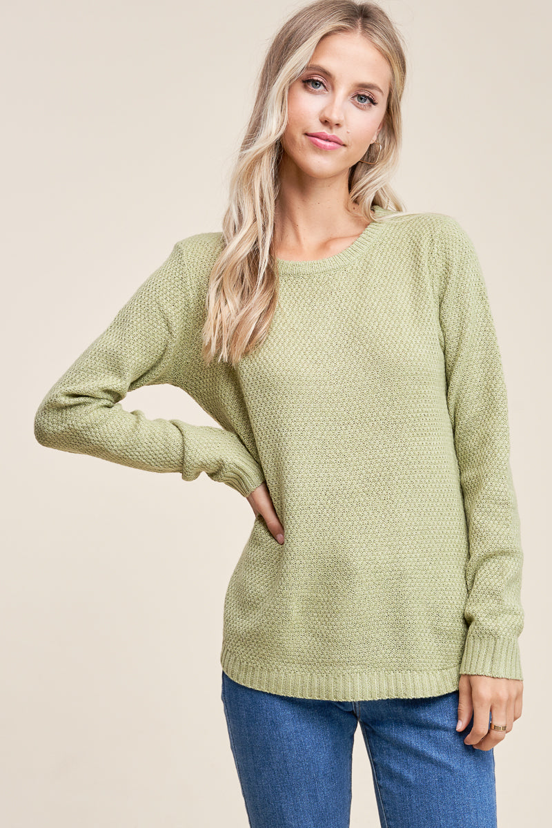Sage Green Pullover