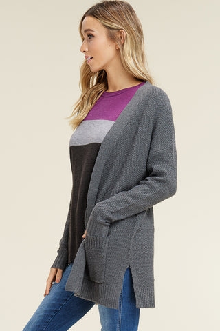 Ella Cardigan - Gray
