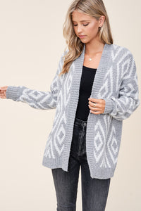 Diamond Knit Cardigan