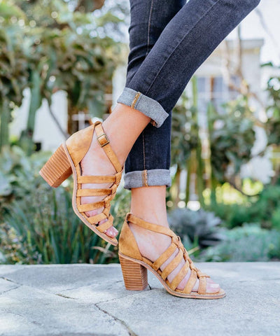 Noelle Braided Heel