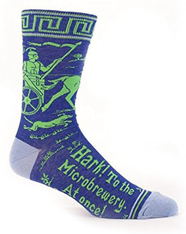 Hark! To the Microbrewery! - Men's Crew Socks