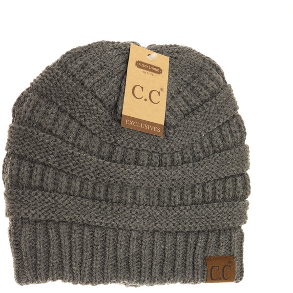 Classic CC Beanie Hats - Lined
