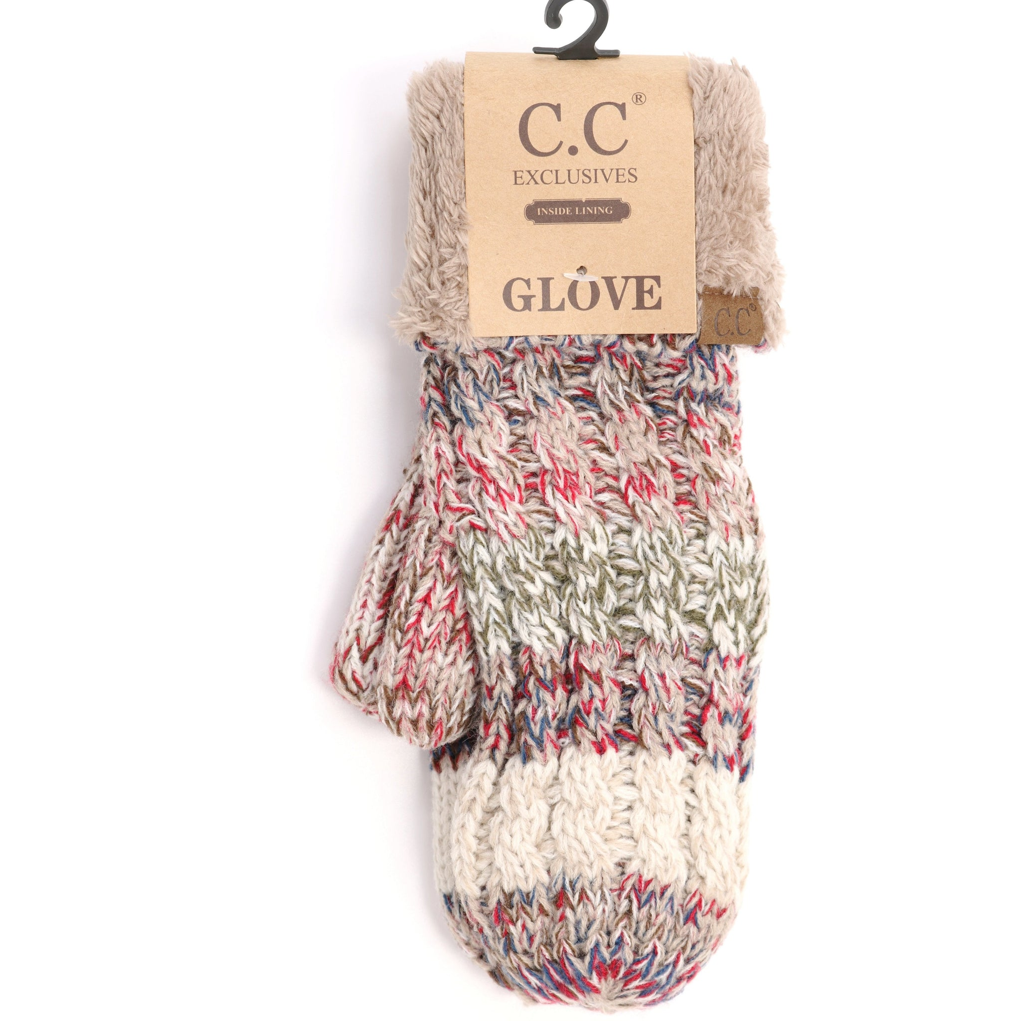 CC Mittens - Tri-Color