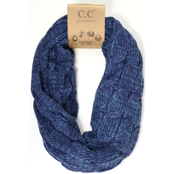 CC Infinity Scarves - Multicolored