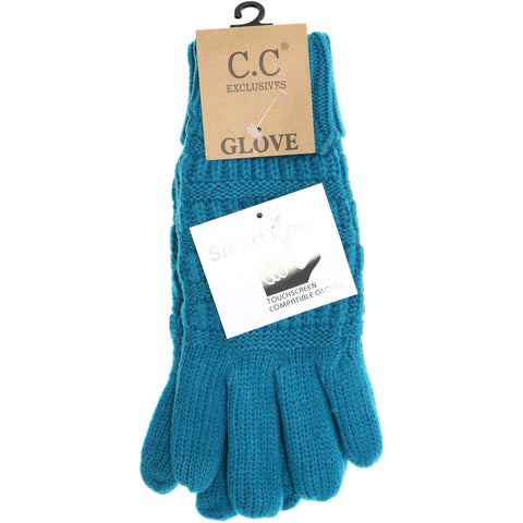 CC Knit Gloves - Solid