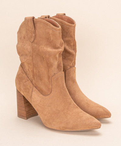 Slouchy Ankle Boot