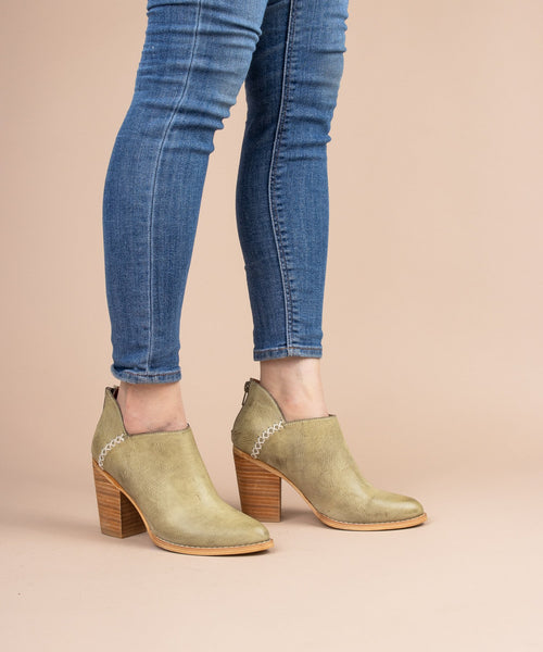 Paradise Green Boots