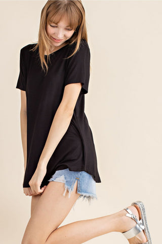Brooklyn Bamboo Tee - Black