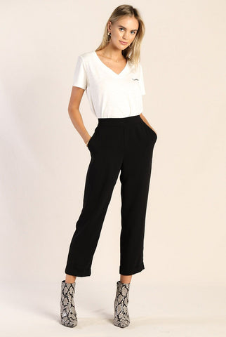 Black Ankle Dress Pants