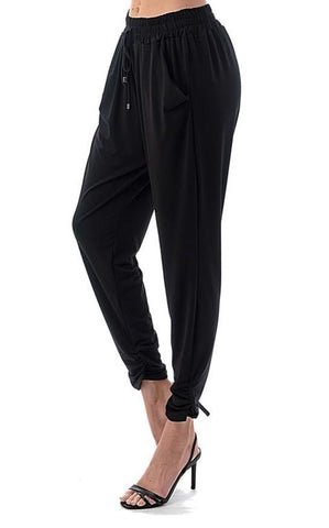 Cinched Ankle Jogger Pants