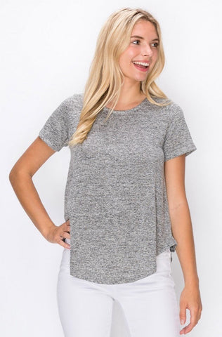 Brooke Curved Hem Top