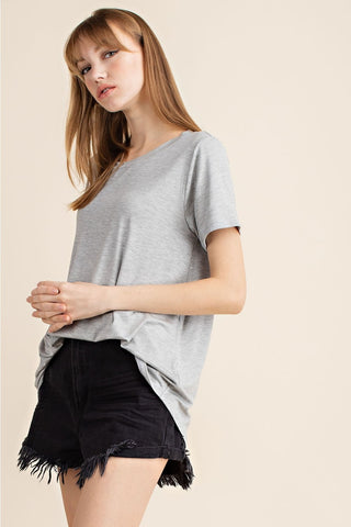 Brooklyn Bamboo Tee - Grey
