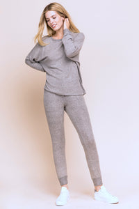 Luxe Jogger Pants - Gray