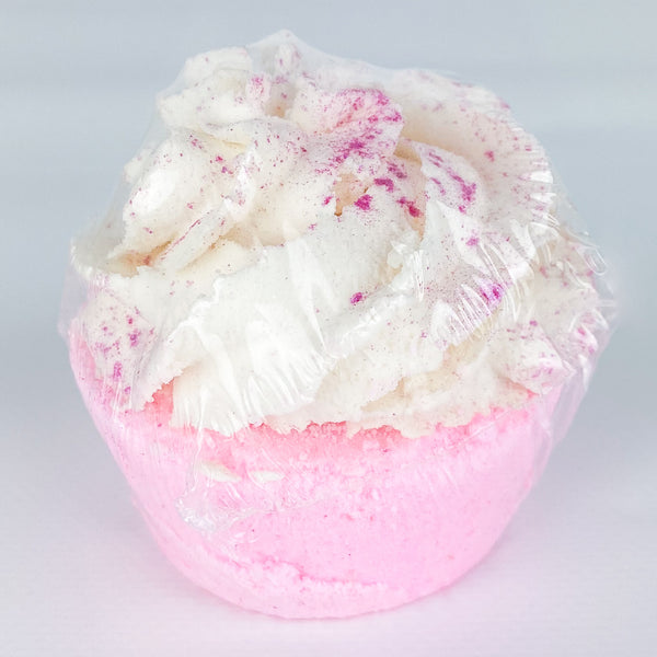 Cupcake Bubble Bath Bomb