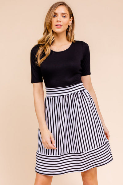 Olivia Elbow Sleeve Dress