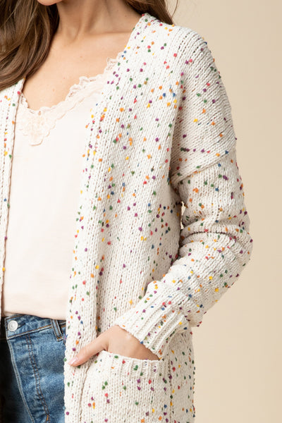 Colorful Confetti Cardigan
