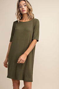 Erica Bamboo Dress - Green