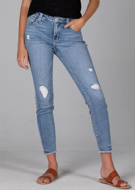 Jag Jeans - Light Wash Distressed
