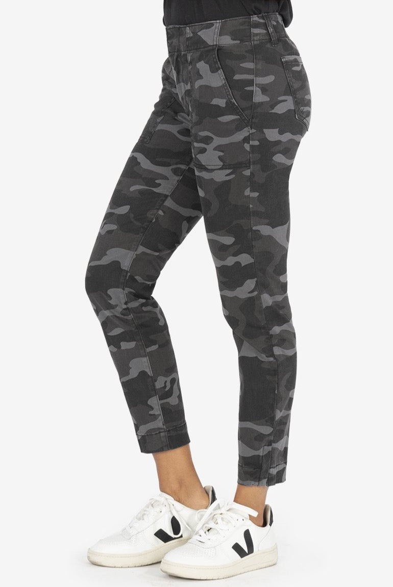 Kut from the Kloth - Black & Grey Camouflage Pants