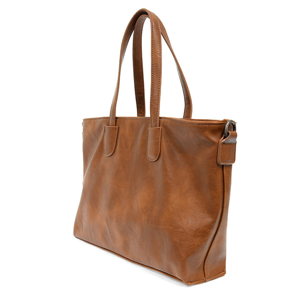 Michelle Zip Top Convertible Tote Bag