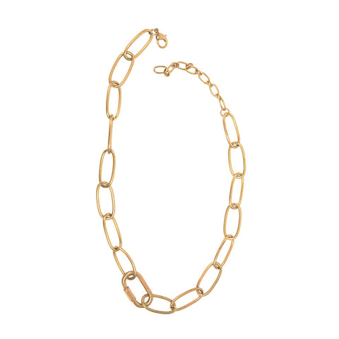 Oval Chain Link Necklace