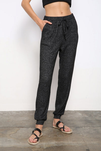 Luxe Jogger Pants - Charcoal