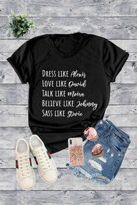 Schitt's Creek Graphic Tee