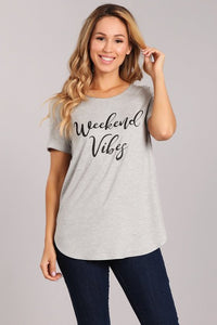 Weekend Vibes Graphic Tee