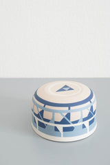 Inlaid Porcelain Bowl - Medium